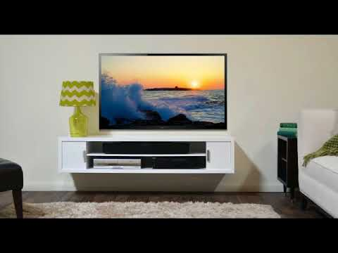 Tv Wall Mount Stand Decoration Ideas For Living Room - YouTube