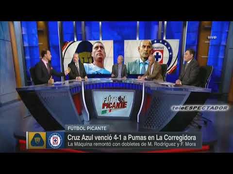 Analisis del PUMAS vs CRUZ AZUL - Jornada 12 Apertura 2017 - Futbol Picante