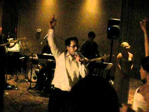 Casey Stern performs for his new wife