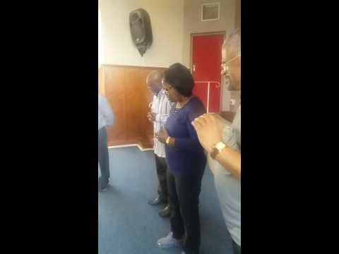 Apostle Sylvester and Lilian Trotter Cape Town radio Station prayer