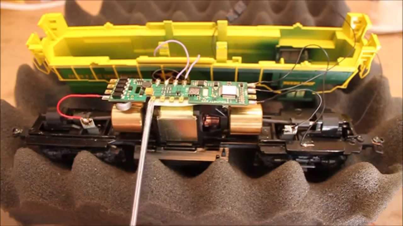 Install A Soundtraxx Tsunami Gn In An Ho Scale