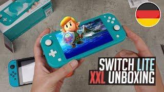 Nintendo Switch LITE - XXL Unboxing & Vergleich