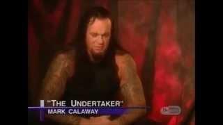 Undertaker talking about Mick Foley