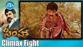 Simha Movie Scenes | Climax Fight Scene | Balakrishna | Sneha Ullal | Namitha