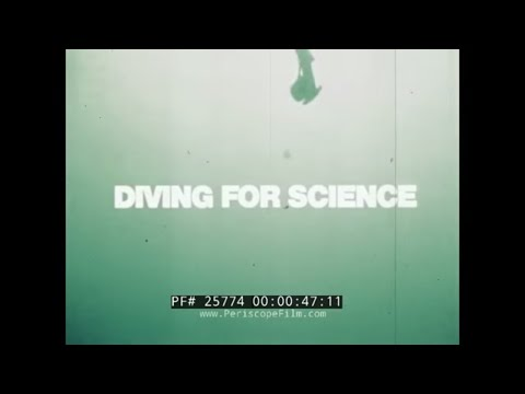 U.S. NAVY SATURATION DIVING, PHYSIOLOGICAL BARRIERS TO DEEP SEA DIVING FILM 25774