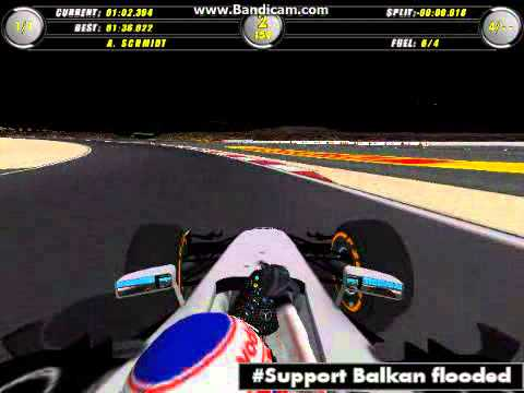F1C 2014 onboard in Bahrain IC with McLaren MP4-29