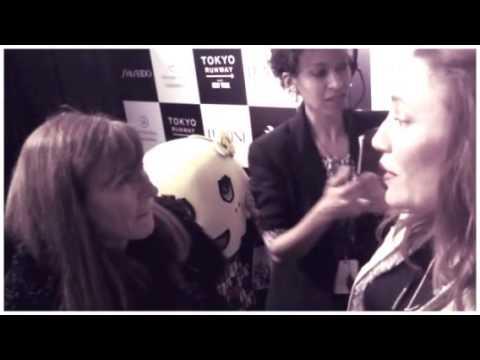 Trend Privé Magazine interview with Nicole Miller at Mercedes Benz Fashion Week