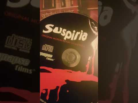 Suspiria 40th anniversary Blu-ray came today whop whop