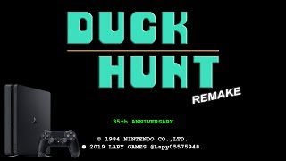 Duck Hunt Remake for PS4 (HomeBrew by Lapy)