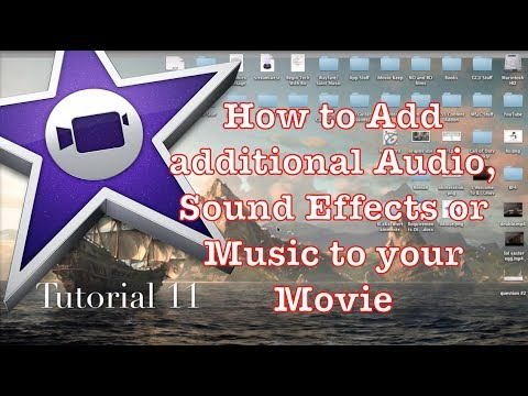 How to Add Audio or Music to your Project in iMovie 10 0 1     How to Add Audio or Music to your Project in iMovie 10 0 1   Tutorial 11
