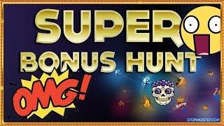 £2K Online Casino BONUS HUNT!! MY BIGGEST BONUS HUNT EVER!!