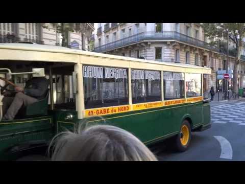 Les balades parisiennes en bus de légende - JEP 2015
