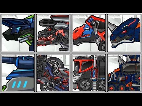 Dino Robot Parasauraptor | Dino Robot Corps - Full Game Play - 1080 HD