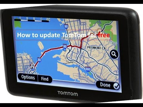 map Updates 2018 TomTom gps Devices ✅