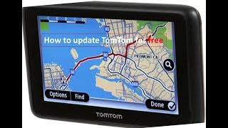 map Updates 2019 TomTom gps Devices
