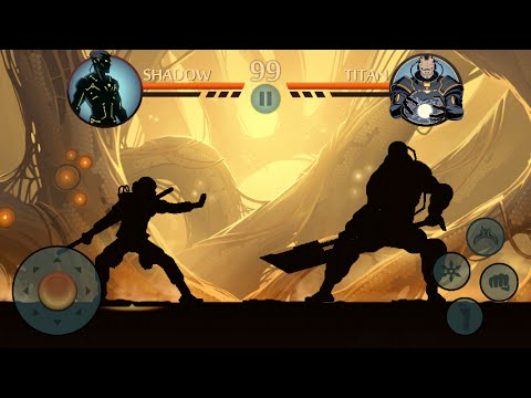 Shadow Fight 2 - Kill Titan With Staff [CHALLENGE]