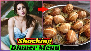 Shocking Dinner Menu of Bollywood Actresses | Deepika Padukone, Alia Bhatt, Sara Ali Khan, Janhvi