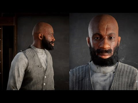 Red Dead Online Black Character Creation (Red Dead Redemption 2 Online)