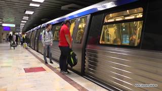 77 Metroul din Bucuresti Subway trains of Bucharest - Sept.2017