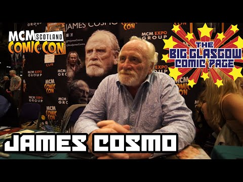 Scottish Game of Thrones Star James Cosmo at MCM Scotland Comic Con