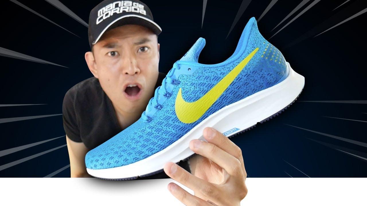 OLHA QUEM CHEGOU!! Nike Air Zoom Pegasus 35. Tênis Certo d0c00e3768986