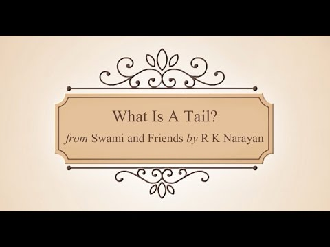 What Is A Tail? | Animated Story | Swami And Friends by R K Narayan