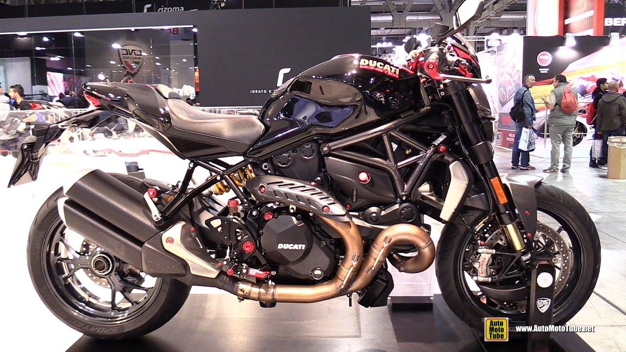 2017 ducati monster 1200r customizedcnc racing - walkaround