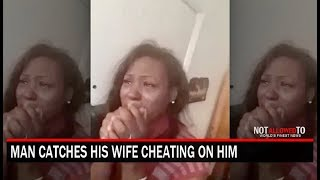 Man Comes Home & Catch Wife Side Dude In The  House!