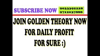 Make Daily Profit With Us Join Golden Theory Now | 9033392228