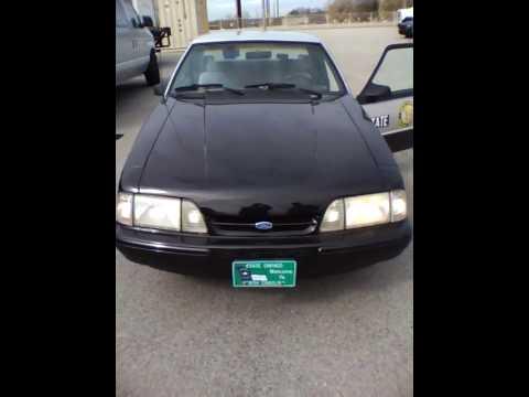 1993 North Carolina State Highway Patrol SSP Mustang Video 3 of 5