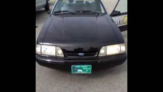1993 North Carolina State Highway Patrol SSP Mustang Video 3 of 5