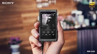New Sony NW-A35 Hi-Res Walkman with Touchscreen Display