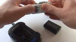 Universal Akku Ladegerät für Kamera und Handy