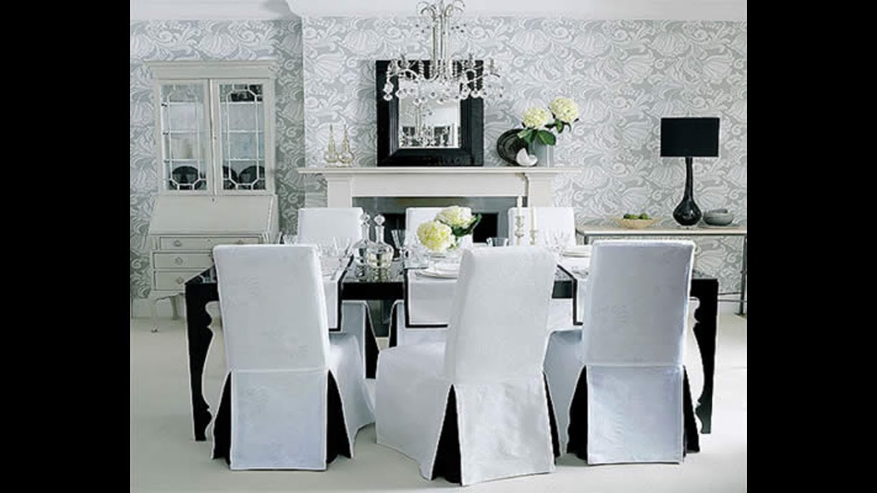 Dining Room Chair Covers How To Make