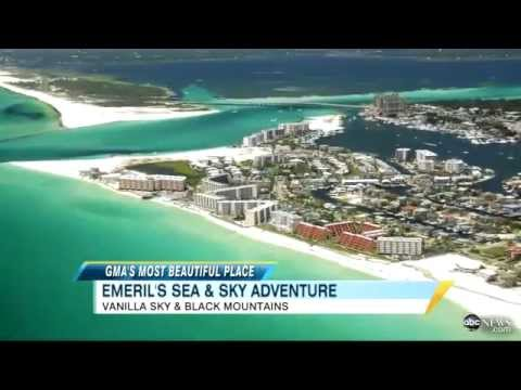 39 Gma 39 Most Beautiful Places Destin Fla Asheville N C Video Abc Youtube