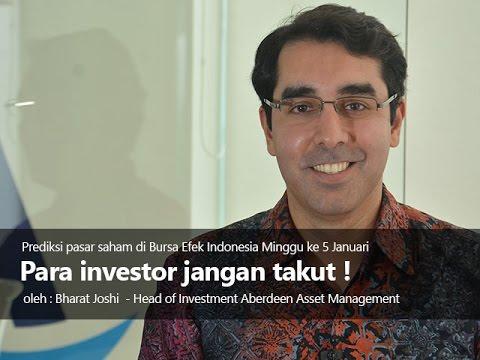 Para investor jangan takut!