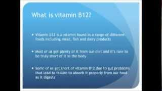 symptoms of vitamin b 12 deficiency and resolving