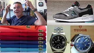 Rolex DateJust Affordable Alternatives, Summer Clothes Haul, Lacoste Shirts, New Balance 997 & Levis