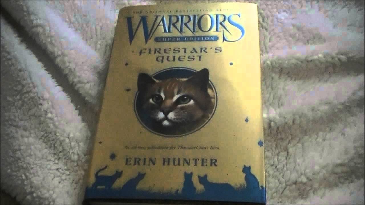 Warrior Cats Collection  1 New Book (firestar's Quest!)