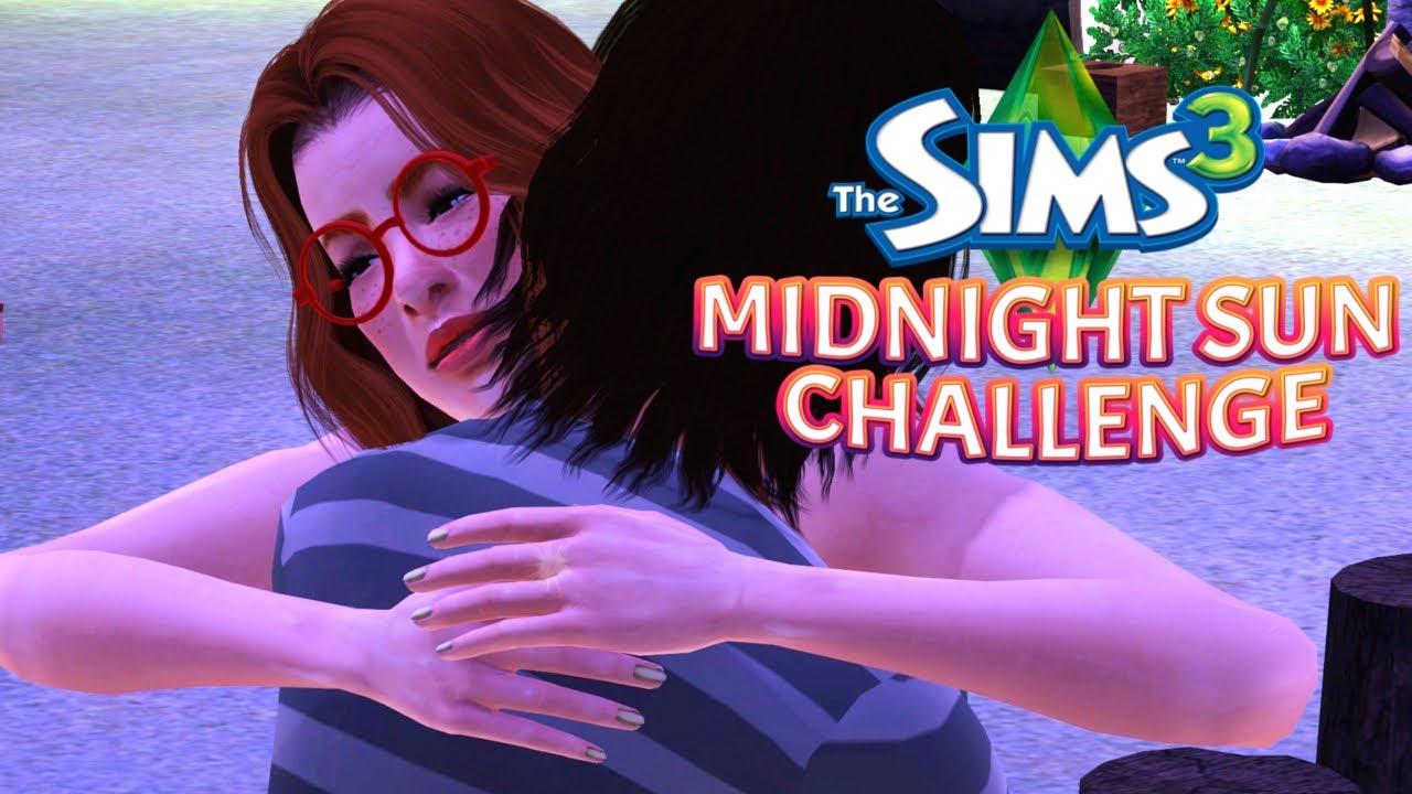 🌴The Sims 3 I Midnight Sun Challenge #11 - Urodziny Molly i kolejny Maluch na Wyspie! 🎂👶
