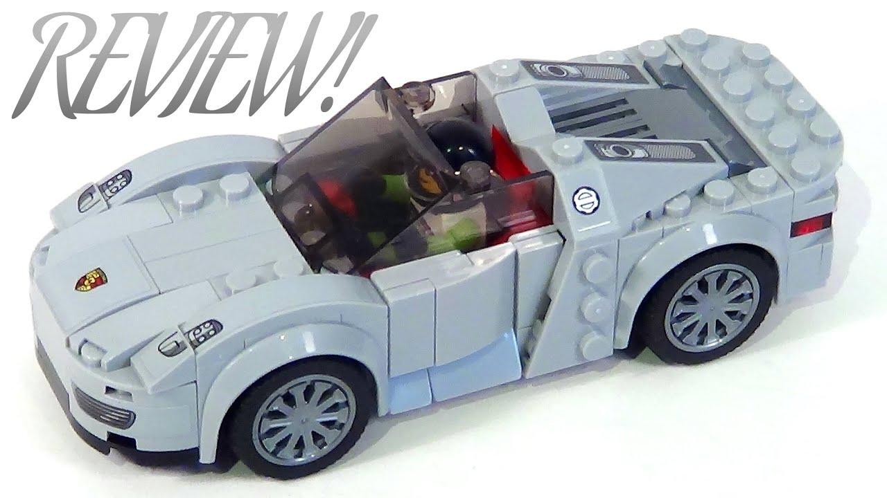 lego speed champions 75910 review porsche 918 spyder youtube. Black Bedroom Furniture Sets. Home Design Ideas