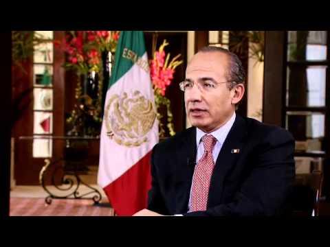 Once Noticias - Entrevista exclusiva con el presidente Felipe Calderón Hinojosa