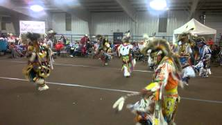 Mens Grass Dance @ Southern Ute Beardance Powwow Group #2 Song #2