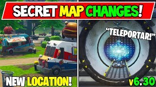 *NEW* FORTNITE SECRET MAP CHANGES!