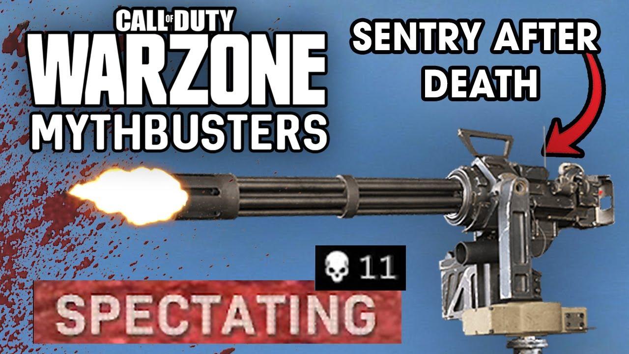 Warzone Mythbusters - Sentry Gun Special