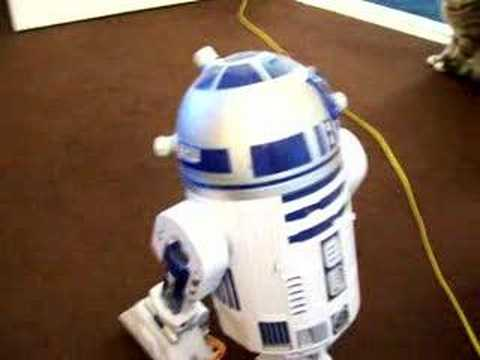 Thumbnail for Cat Video Toy R2D2 disturbs Cat