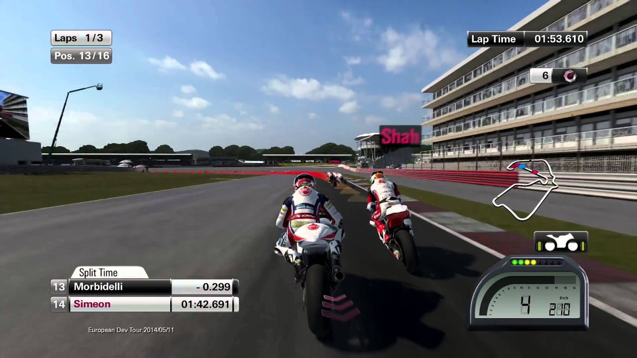 MOTOGP 14 PS4 (moto 2) gameplay HD - YouTube