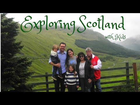 FAMILY TRAVEL VLOG: How to Explore Scotland with Kids!