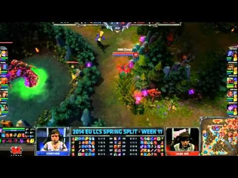 CW vs GMB LCS Spring 2014 W11D1 | Greek Coverage by CBTV