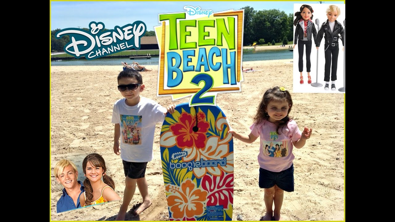 Teenage Beach Movie Toys : Disney teen beach preview brady mack musical dolls